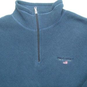 Ralph Lauren Polo Sport 1/4 Zip Polartec Pullover